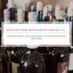 Estilos de vinho: muito além do sabor da uva...