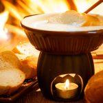 Para aquecer o inverno com fondue