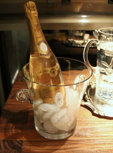 champagne a mesa