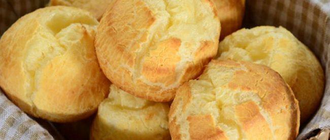 receita pao de queijo