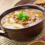 Receita: Sopa de feijão branco, por Restaurante Lá da Venda