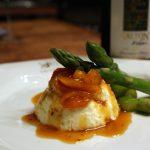 Receita: Mousse de queijo brie com damascos, por Idana Spassini