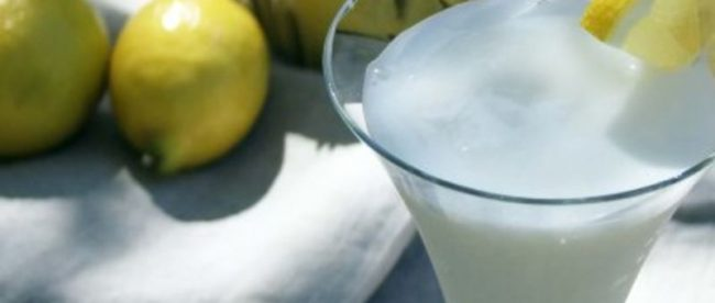 Receita: Sgroppino al limone, do restaurante Piola