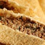 Receita: Pastel de carne, por Dona Maria Kuniko