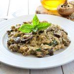 Receita de Risoto funghi com caldo de carne, por Sonoma