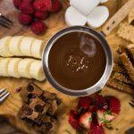 Receita: Fondue de chocolate, por restaurante Baden Baden (Campos de Jordão)