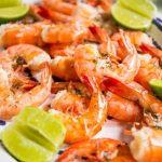 Receita: Camarão preparado no sal grosso, por Receitas de Carolina