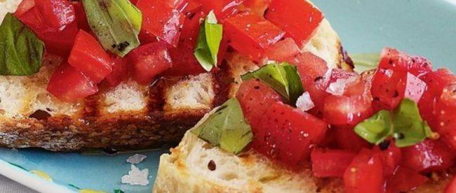 Receita: Bruschetta Tradicional (de tomate), por Sergio Arno