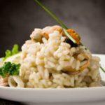 Receita: Risoto funghi com caldo de legumes, por Homens Gourmet