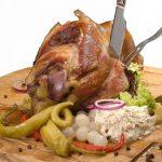 Receita: Joelho de porco com chucrute e purê de ervilhas, por Lucas Mendes