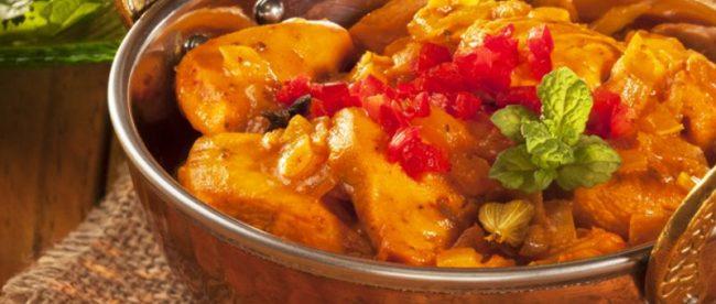 receita curry indiano murg korma do tandoor