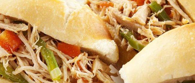 receita sanduiche de pernil