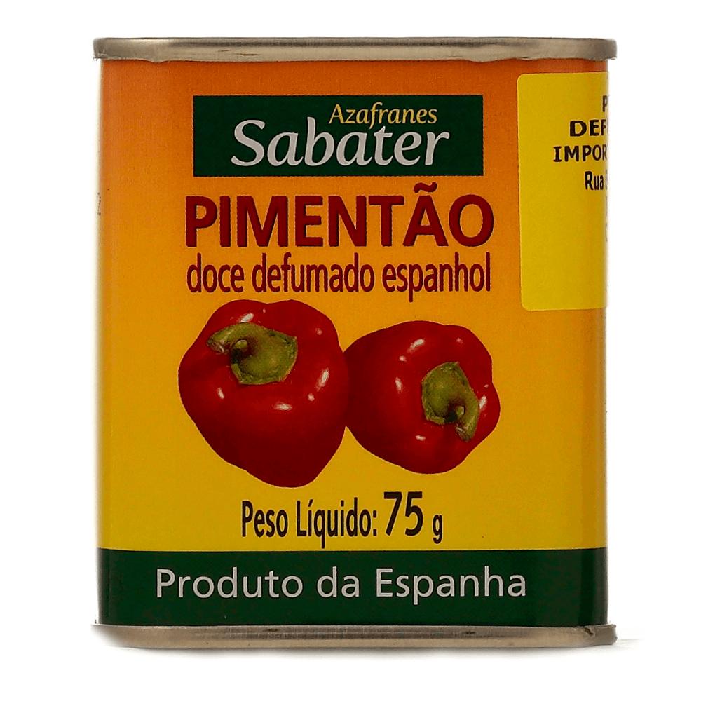 SABATER PIMENTAO DOCE DEFUMADO ESPANHOL