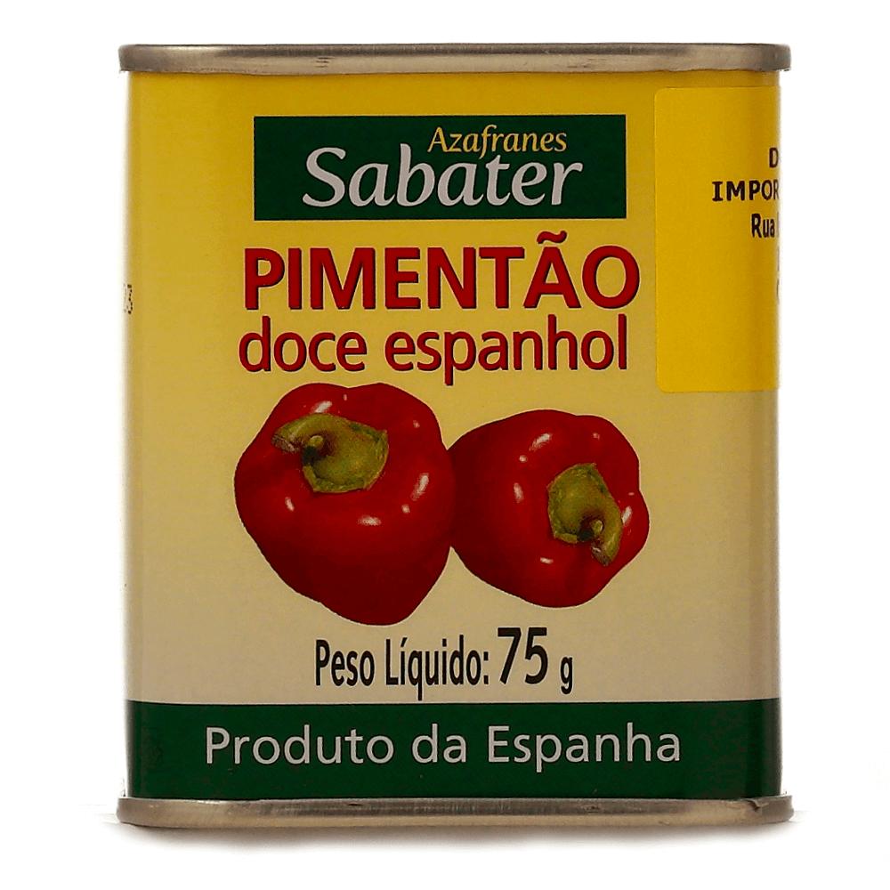 SABATER PIMENTAO DOCE ESPANHOL